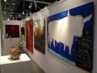 Work at European Art Fair with Retrospect Galleries
